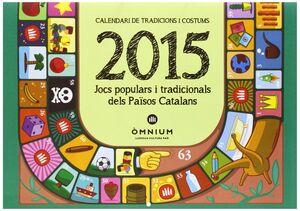 CALENDARI DE TRADICIONS I COSTUMS 2015