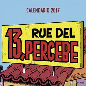 CALENDARIO 13 RUE DEL PERCEBE 2017