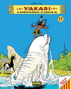 YAKARI 11, EL BUFADOR DE NÚBOLS  EL FUROR DEL CEL